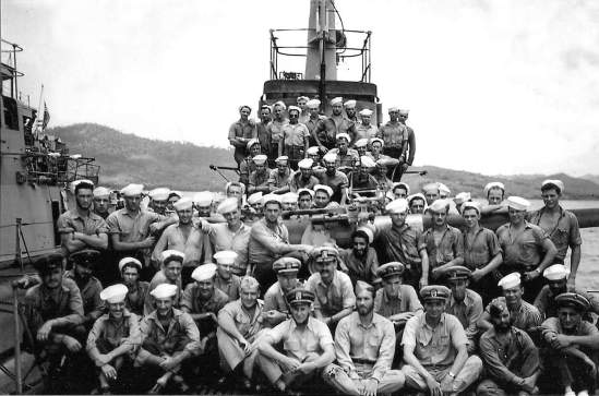 Cobia crew prior to 2nd war patrol