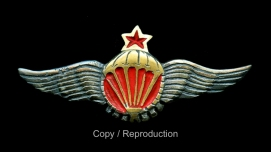Copy/Fake Spanish Civil War Republican parachute badge