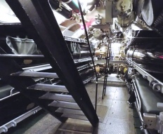 The Forward Torpedo Room, which has several bunks are ready for overnight guests. Photo: Courtesy of the Wisconsin Maritime Museum