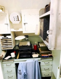 USS Cobia's restored Yeoman's Shack. Photo: Courtesy of the Wisconsin Maritime Museum