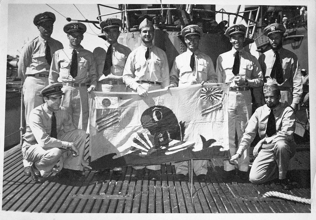 USS Cobia SS-245 Battle Flag