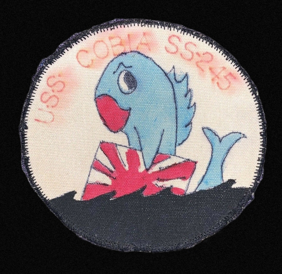 uss cobia ss245 patch