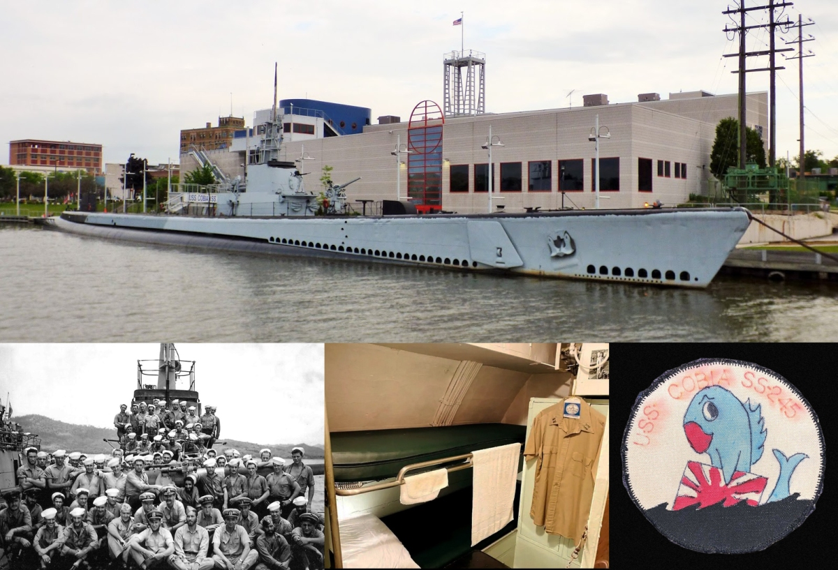 USS Cobia SS-245. An AirBnB with adifference