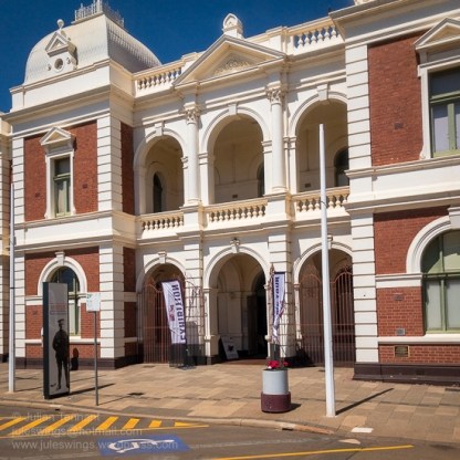 Entrance to the Goldfields War Museum. Photo: Julian Tennant