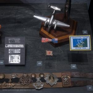 Display detail at the Goldfields War Museum. Photo: Julian Tennant