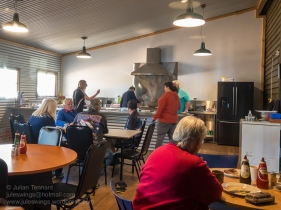 Sunday Breakfast at the Nungarin Heritage Machinery and Army Museum. Photo: Julian Tennant