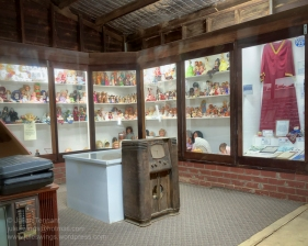 Toy and home-ware display at the Nungarin Heritage Machinery and Army Museum. Photo: Julian Tennant