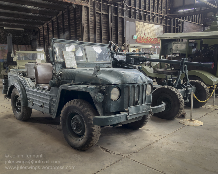 4 Cylinder Series B Austin Champ used by the Australian Army in the 1950's.