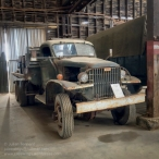 WW2 GMC 6x6 truck. Photo: Julian Tennant