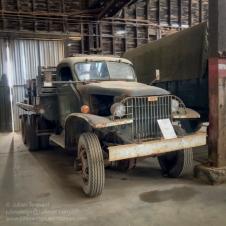 WW2 GMC 6x6 truck. Photo: Julian Tennant