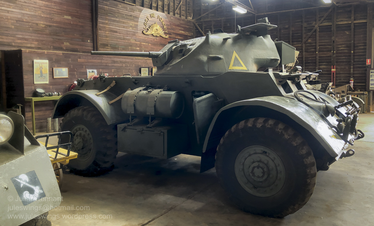 Staghound Armoured Car. Photo: Julian Tennant