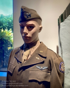WWII US uniform representing a pilot from the 5th Air Force. USAAF. Photo: Julian Tennant
