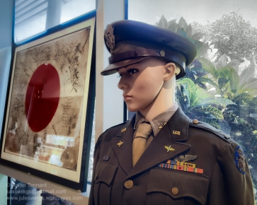 WWII US Army Air Force navigator's uniform from the 5th Air Force. USAAF. Photo: Julian Tennant
