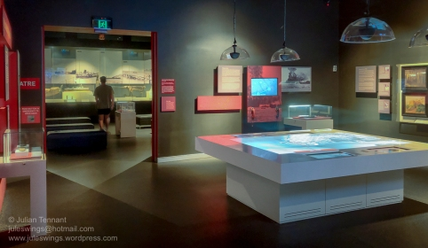 The Defence of Darwin Experience galleries. Photo: Julian Tennant