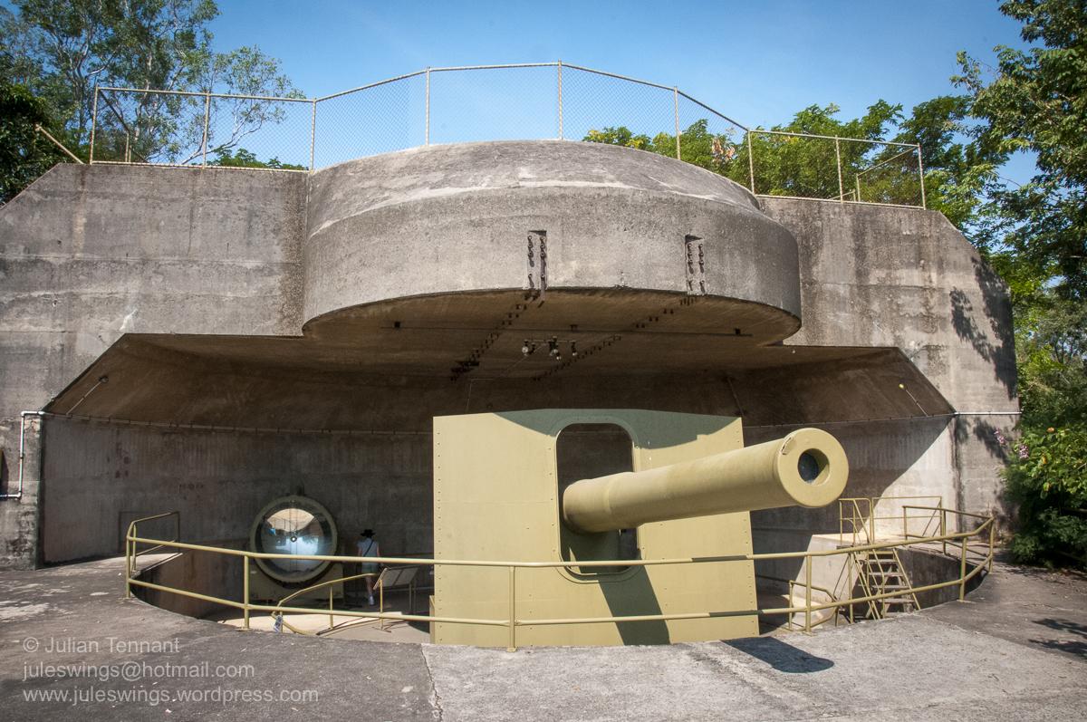 Darwin Military Museum 9.2 inch gun-02