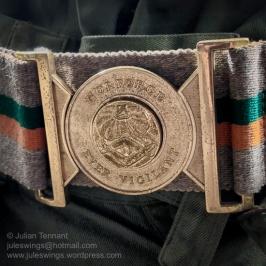 NORFORCE stable belt detail. Photo: Julian Tennant