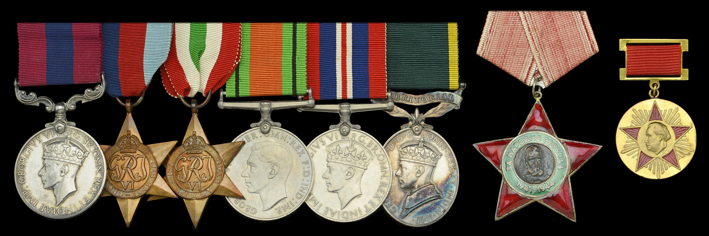 DNW Scott SOE medals