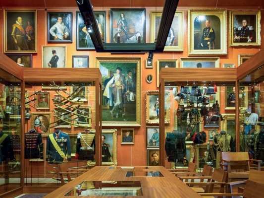 The 'Treasury' room.