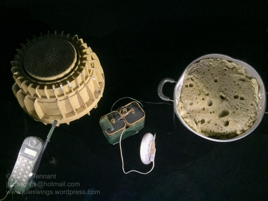 Improvised Explosive Device, Afghanistan. Photo: Julian Tennant
