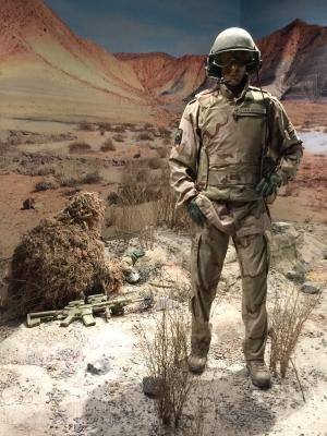 Afghanistan display. Photo: Julian Tennant