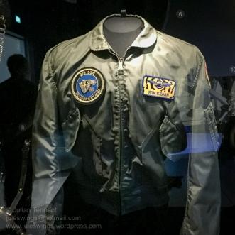 Royal Netherlands Air Force 313 Squadron Pilot's jacket. Photo: Julian Tennant