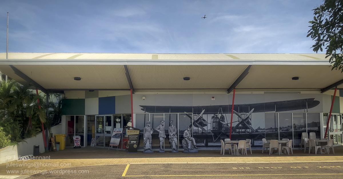 Entrance to the Darwin Aviation Museum. Photo: Julian Tennant