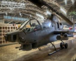 Bell AH-1 Cobra (S Model) gunship. Photo: Julian Tennant