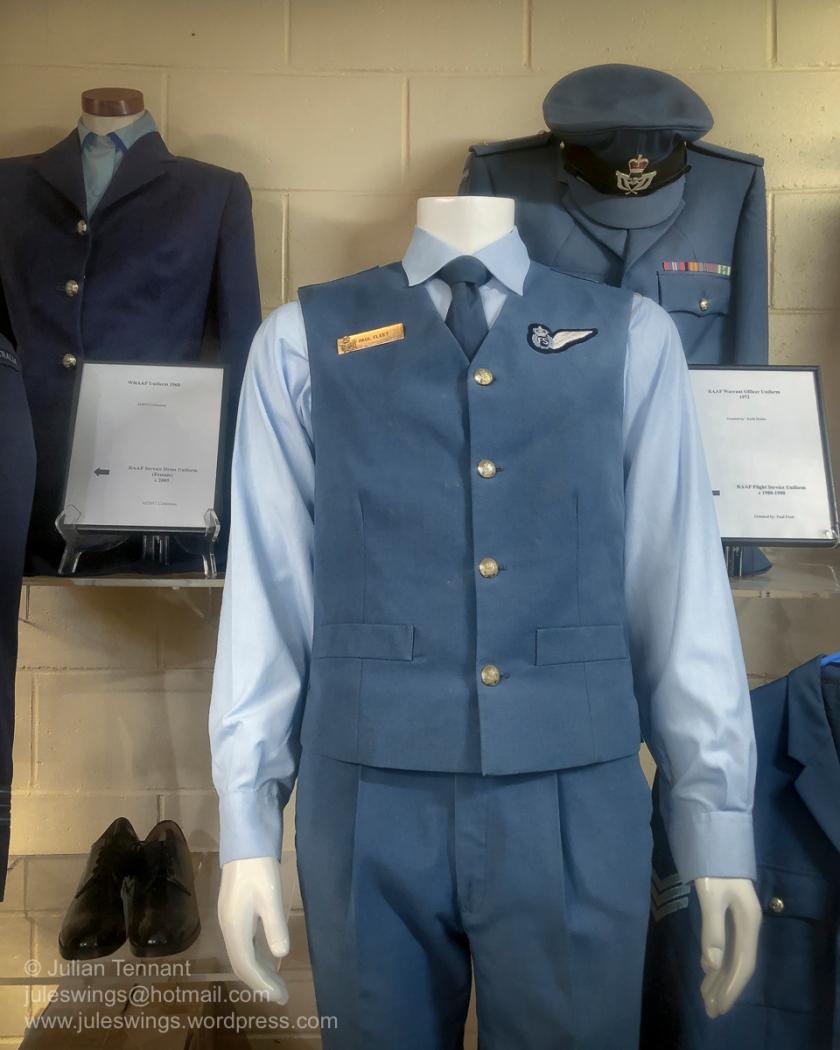 RAAF Flight Service Uniform c1980-1990. Photo: Julian Tennant