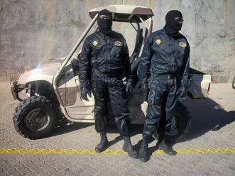 Operators from the Counter Terrorist Unit (CTU) of the Nampol Special Reserve Force Division circa 2014.