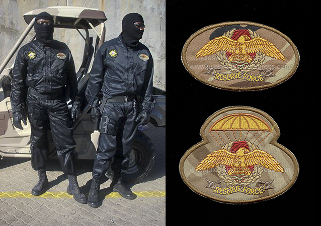 African Special Operations Insignia #1 – The Namibian Police Special ReserveForce