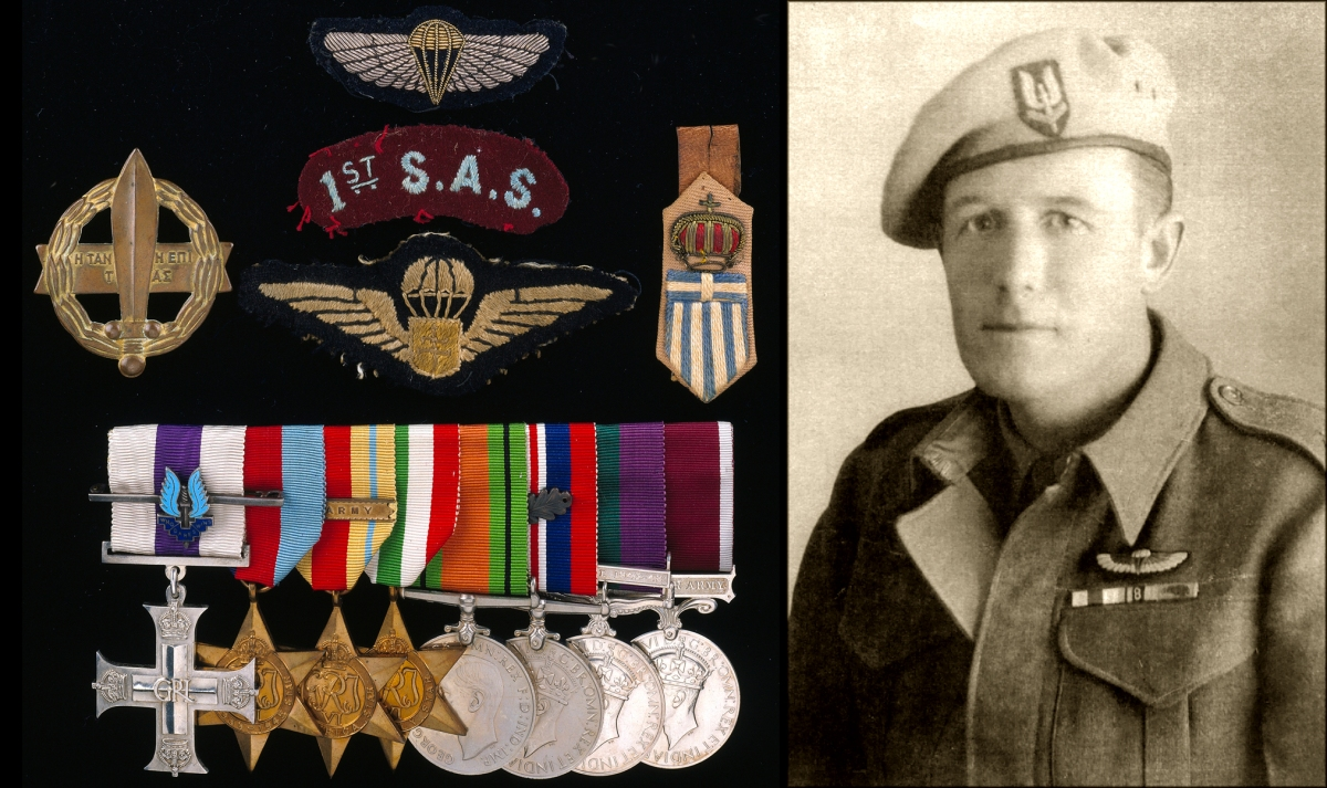 A WWII L Detachment S.A.S. Military Cross group awarded for Operation BIGAMY, the 1942 raid onBenghazi