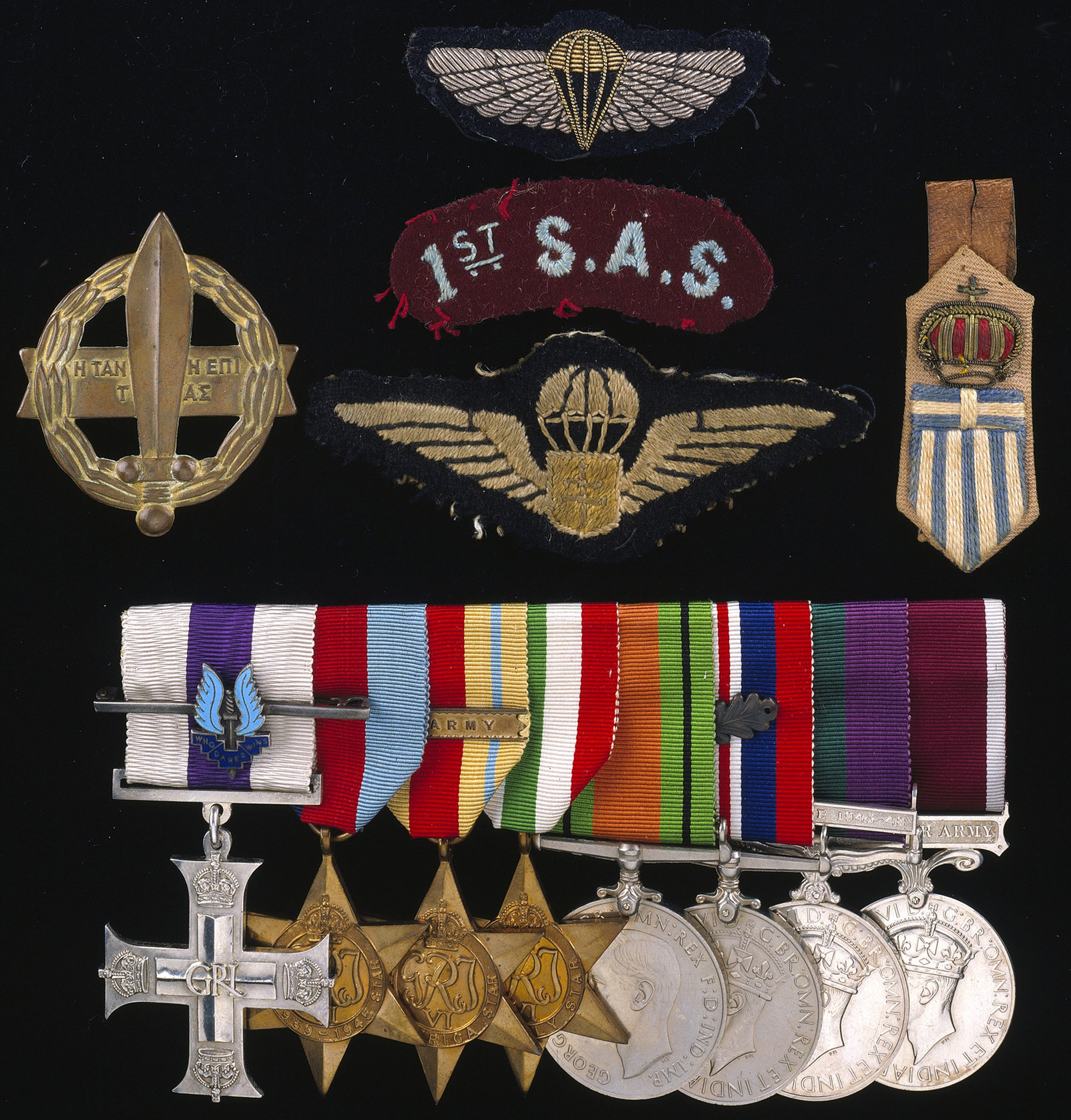 SAS Bill Cumper medal group