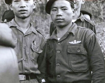 "Thai PARU instructors circa 1963/4. Note the metal parachutist wing. Photo: J. Vinton ""Vint"" Lawrence"