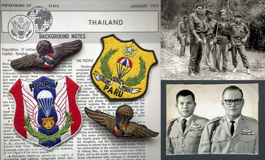 The Thai Police Aerial Reinforcement Unit (PARU) 1954 –1974