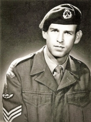 AATTV advisor, WO2 John Gordon Pettit, seen here whilst still a sergeant serving with the the Australian SAS Company. John Pettit was KIA on 4 April 1970 during the fighting to relieve Dak Seang. He was on his third tour of duty with AATTV when KIA and was posthumously awarded the US Silver Star in April 2002 for his gallantry on that day.