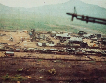 Dak Seang Special Forces Camp after the siege. May 1970. Photo: SP5 Christopher Childs
