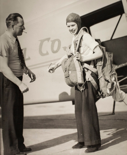 Birdie Draper. Image courtesy the San Diego Air and Space Museum's Library & Archives