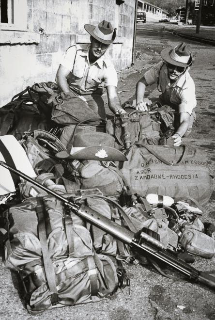 Op Agila Australian soldiers assemble at Richmond RAAF Base prior to deployment to Rhodesia Credit-Antonin Cermak