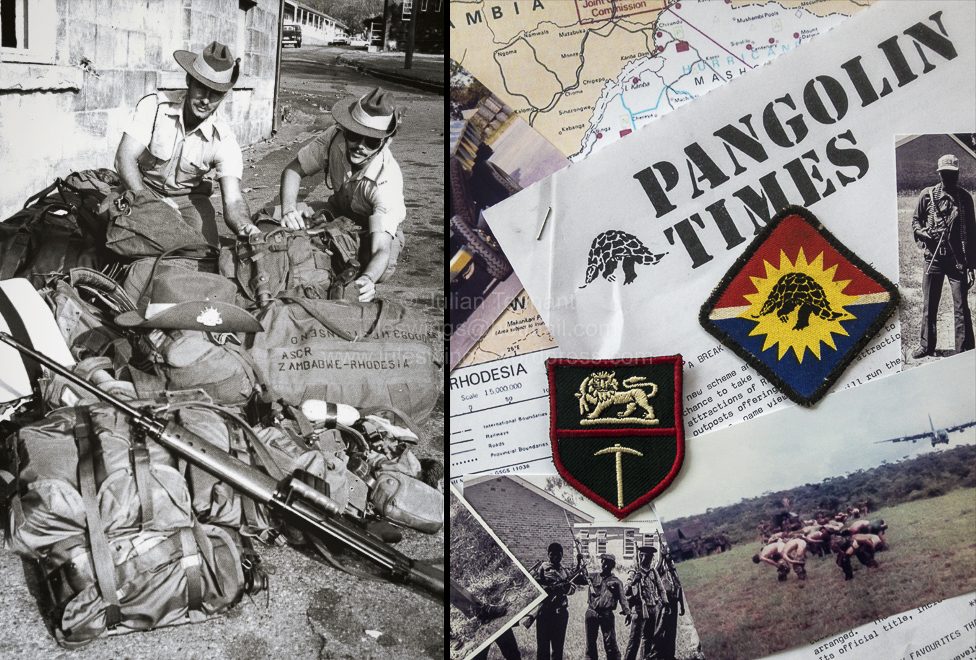'PANGOLIN TIMES' – Op AGILA / Op DAMON Rhodesia Dec 1979 – Mar1980.