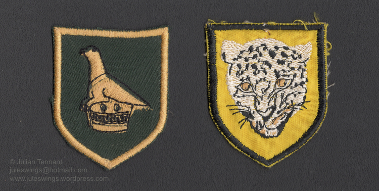 Zimbabwe army patches