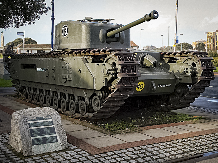 D-Day Story Museum Portsmouth Churchill tank-01