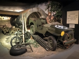 British Airborne landing display at the D-Day Museum prior to the upgrade.