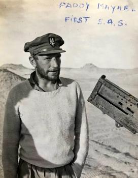 Blair ' Paddy' Mayne in the Western Desert. Photo: Fred Casey.jpg