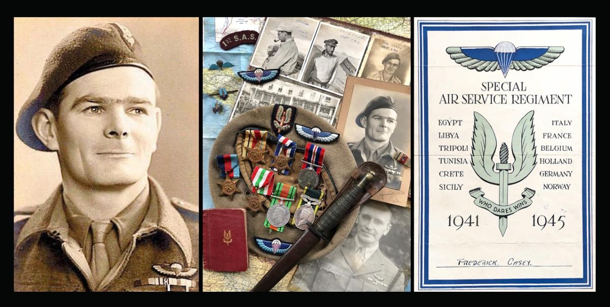'L' Detachment SAS 'original'  Fred Casey's Memorabilia andArchive