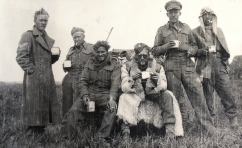 Members of Fred Casey's patrol from 1 SAS having a brew somewhere in the Western Desert, 1942.