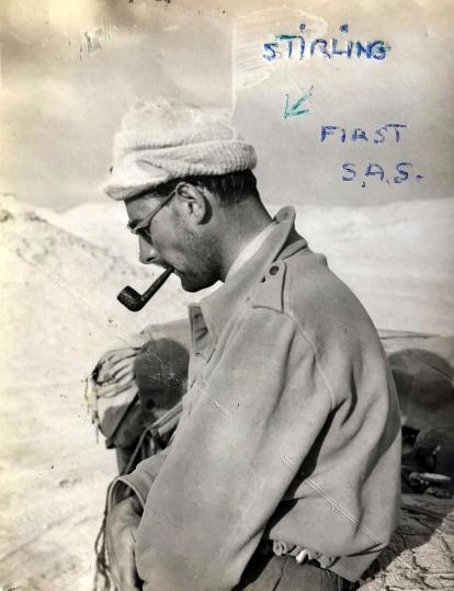 SAS founder David Stirling. Photo: Fred Casey