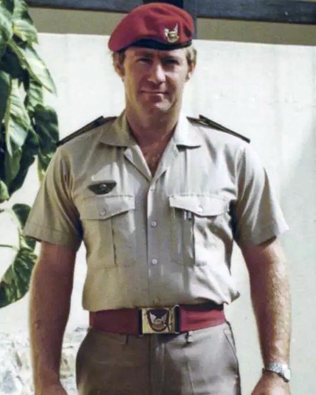 Transkei TDF Piet Van Der Riet Selous Scouts