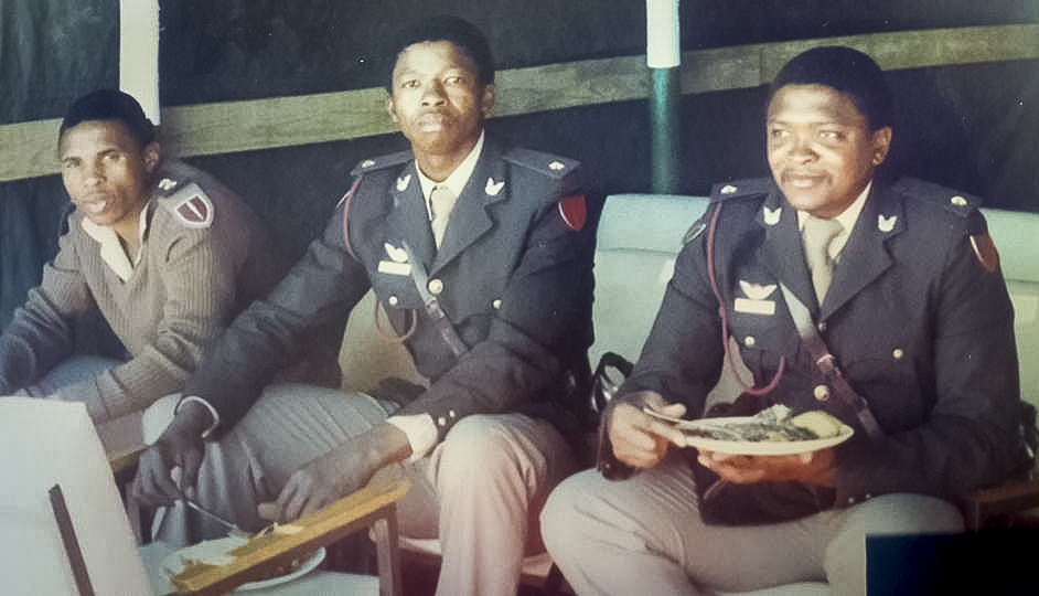 Transkei TDF SF officers a