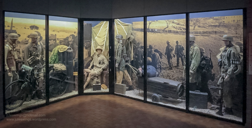 2 Overloon Oorlogsmuseum Fallschirmjäger collection Africa-1