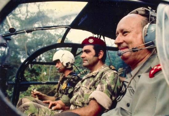 Col Costa Campos and General Kaúlza de Arriaga
